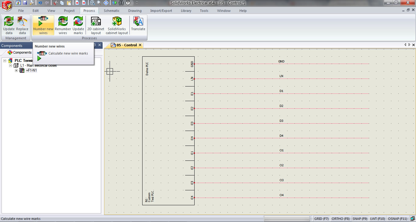 Plc I O Wire Numbering In Solidworks Electrical Wiring Diagrams Tutorials Number New Wires