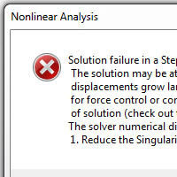 Singularity Error