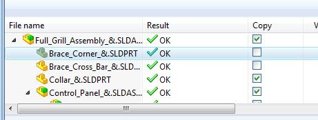 Check files to copy