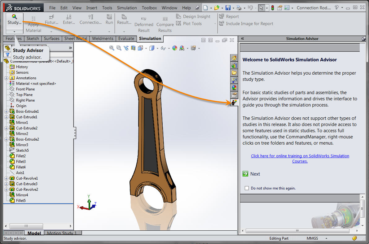 Solidworks Design Study - YouTube