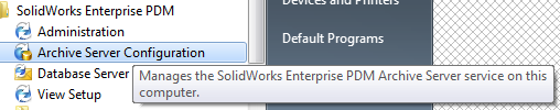 EPDM - Could not access the item in the database