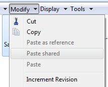 Modify Increment Revision