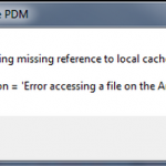 Full drive error message