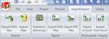 Import and Export from Excel