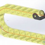 New in SOLIDWORKS 2015 – Chain Component Pattern [VIDEO]