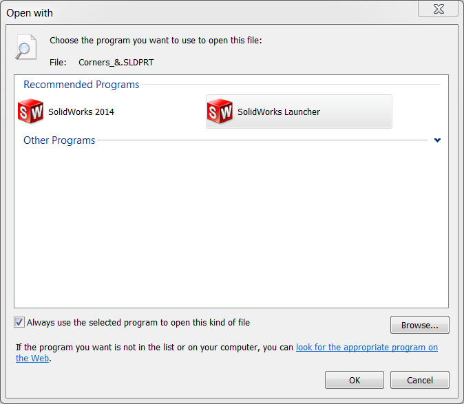 Restore File Associations In Solidworks