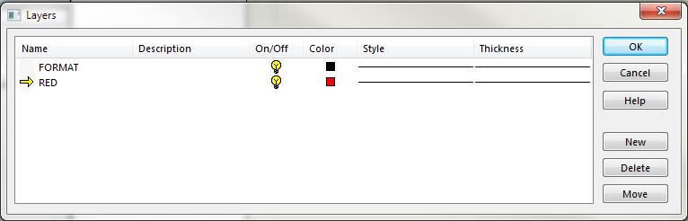 Layers Dialog Box