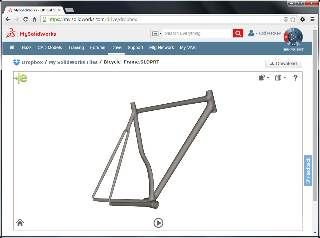 New MySolidWorks Online Services and Packages