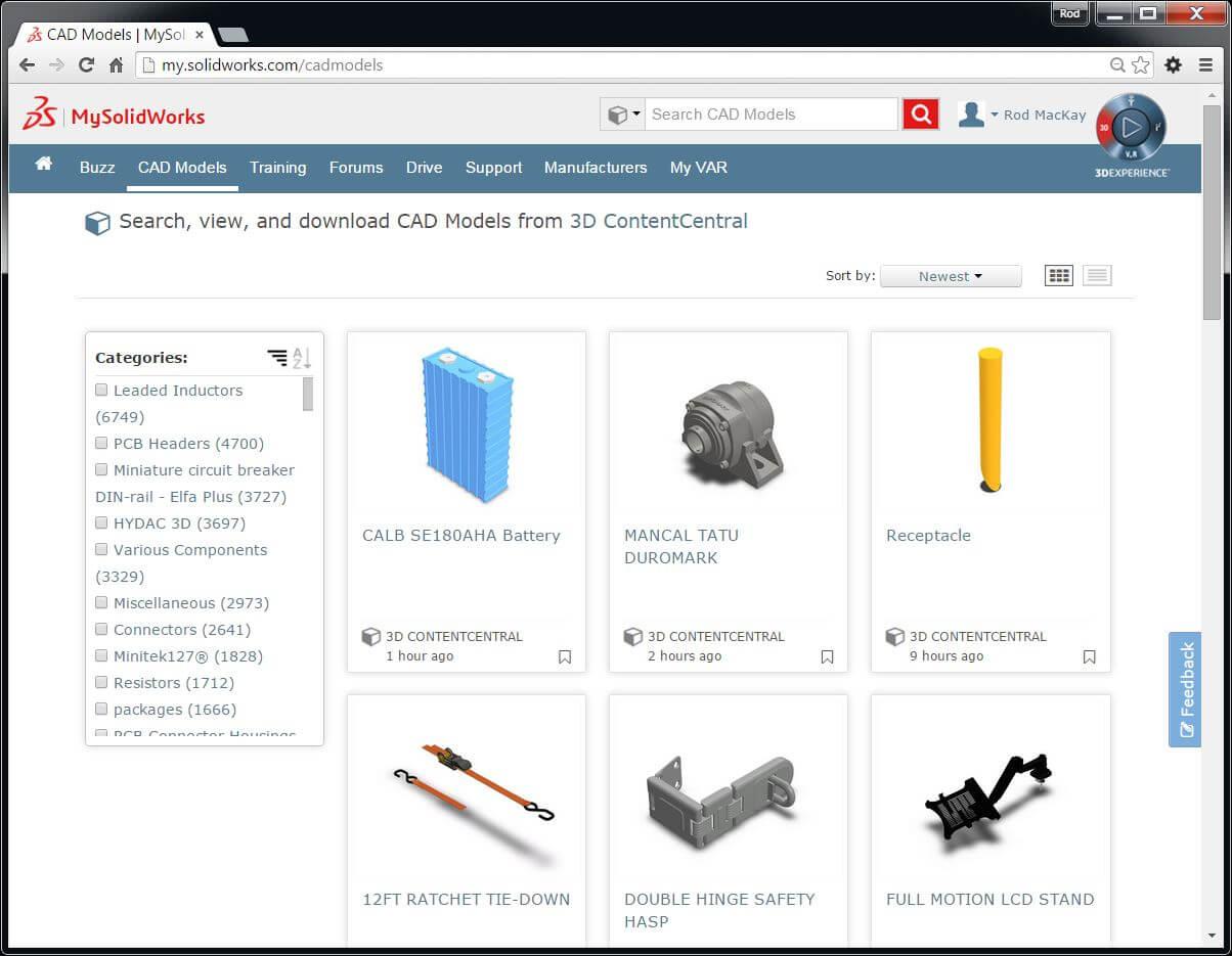 MySolidWorks CAD Models