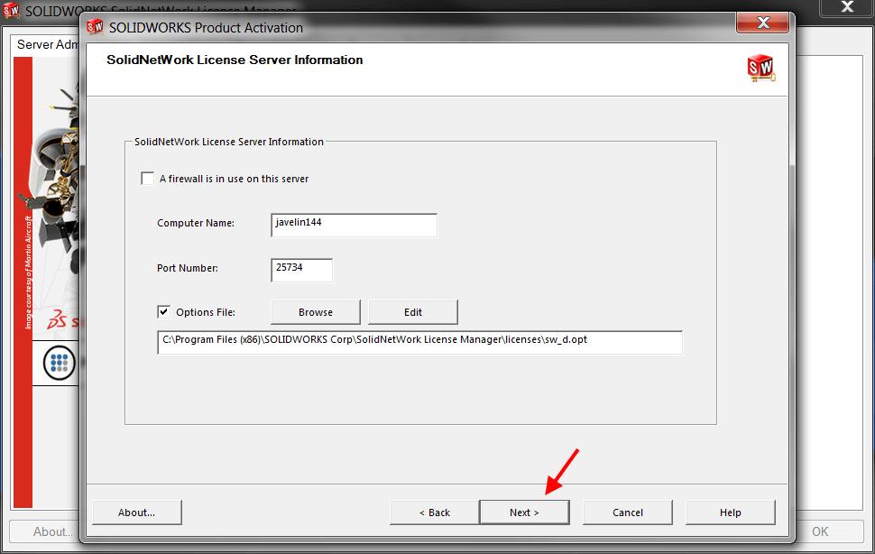 Check Server Information