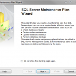Setting up the Microsoft SQL Maintenance Plan [VIDEO]
