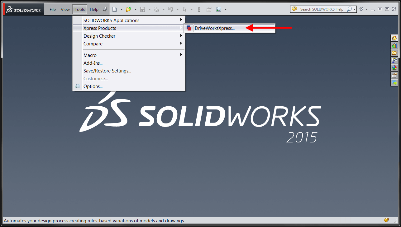 SOLIDWORKS Xpress Products