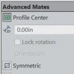 New Mates in SOLIDWORKS 2015: Mate to Profile Center [VIDEO]