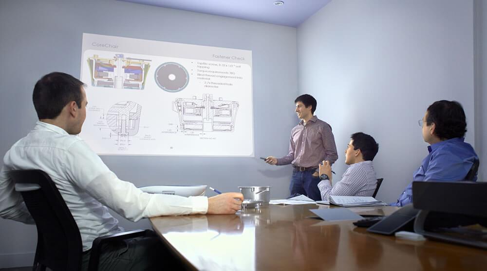 Collaboration at Inertia Engineering + Design