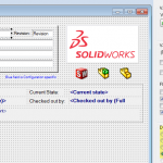 Moving SOLIDWORKS PDM Files does not regenerate Data Card Values?