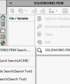 Default SOLIDWORKS PDM Search