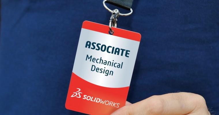 Certified SOLIDWORKS Associate Badge