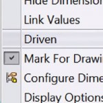 New in SOLIDWORKS 2015 – Set Multiple Dimensions to a Driven Status at Once [VIDEO]