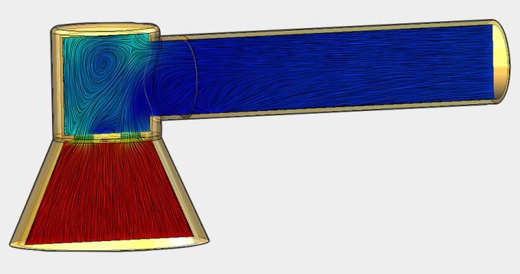Flow Simulation Pressure Drop