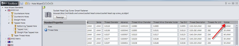 Toolbox Thread Data