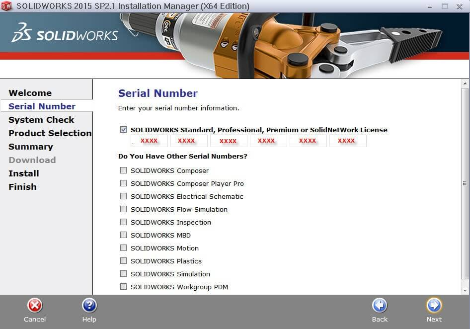 crack solidworks 2015 serial number
