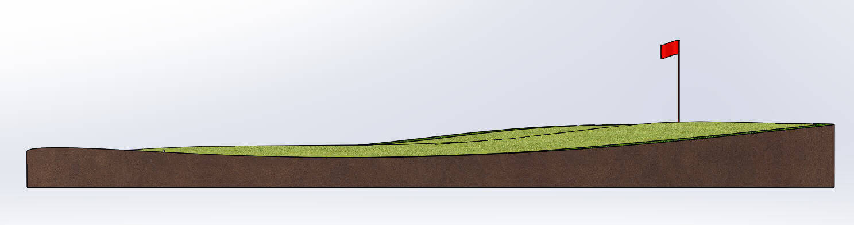 Uphill lie