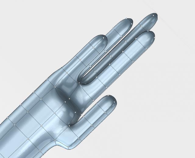 weird arm