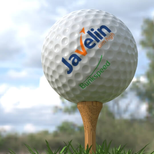 Golf Ball Rendering with Bunkspeed