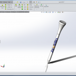 Design & 3D Print Golf Tees with SOLIDWORKS & Stratasys 3D Printers