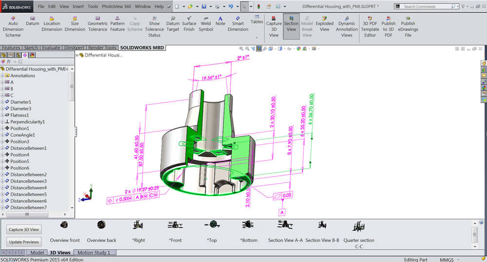 Experience solidworks mbd for Technical data package template
