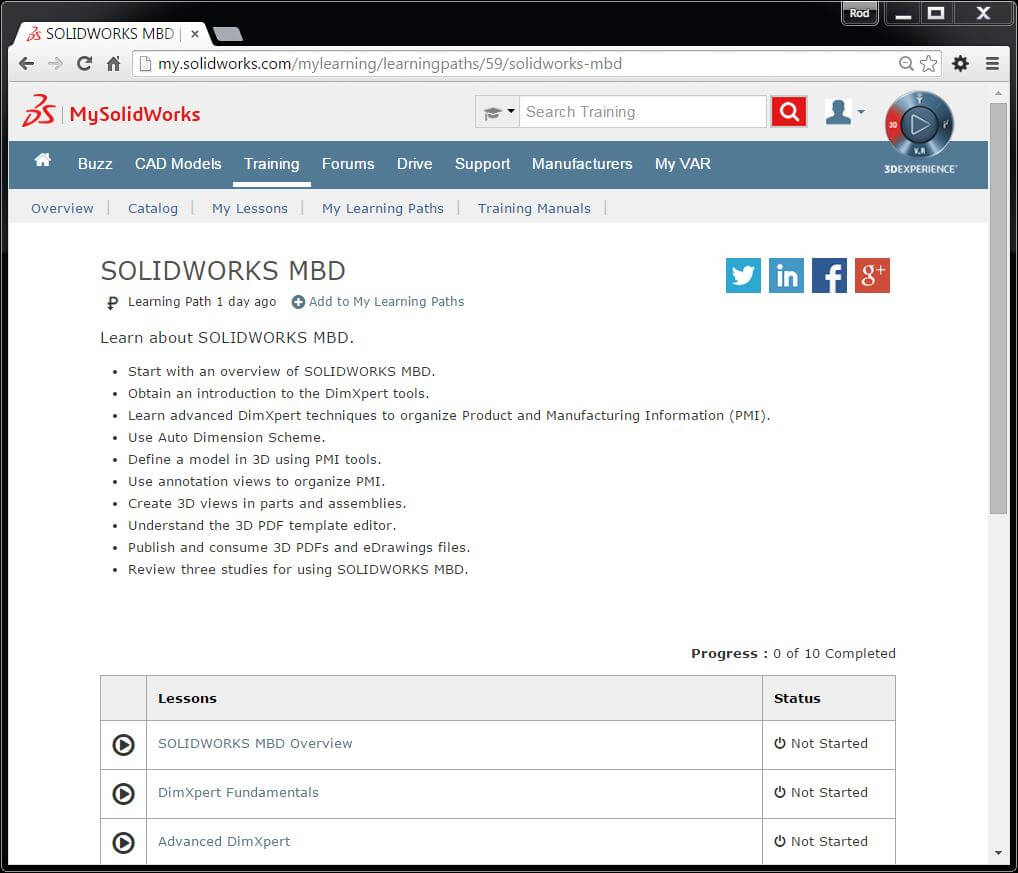 Experience SOLIDWORKS MBD