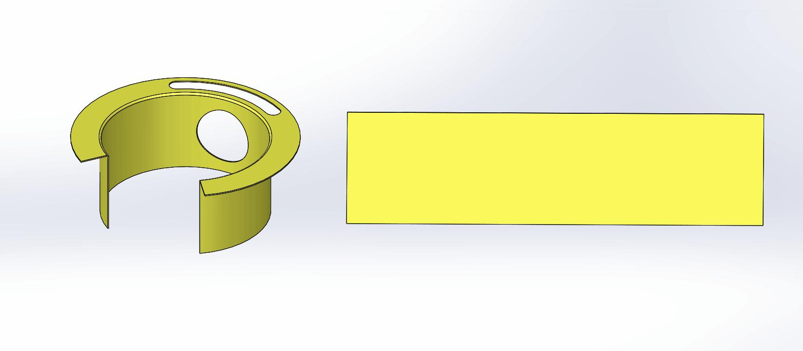 Solidworks 2016 Sheet Metal Swept Flange Enhancement