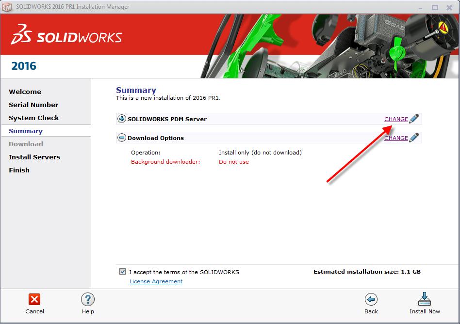 Install Manager Summary