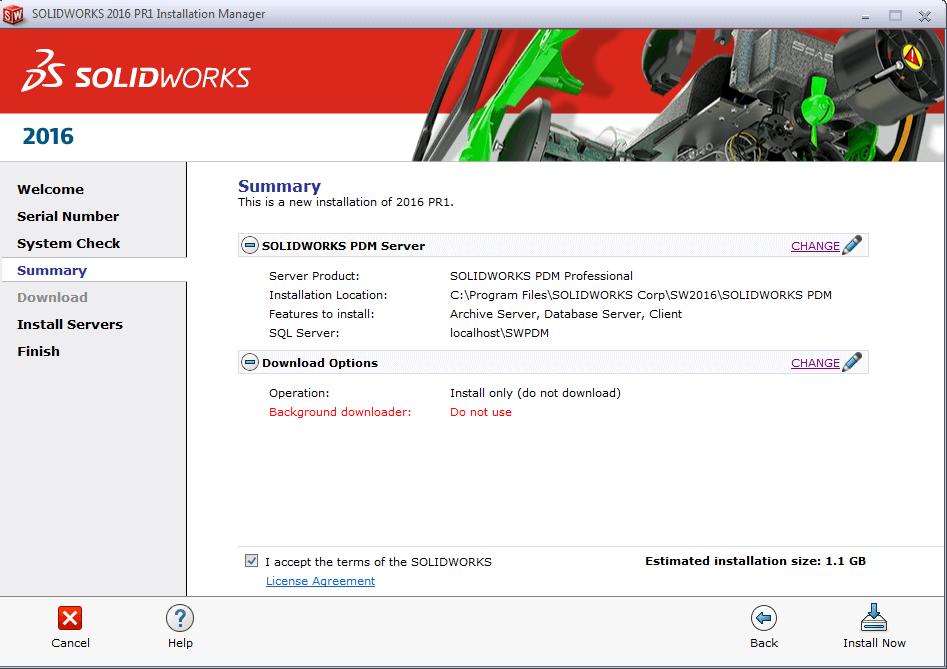 PDM Pro server install