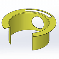 Solidworks 2016 Sheet Metal Swept Flange Enhancement