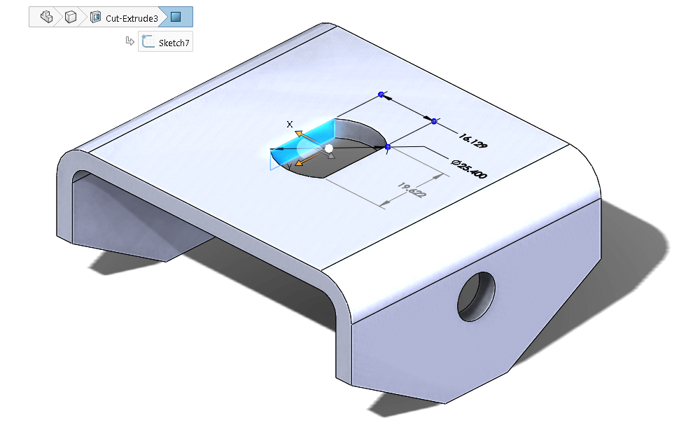 SOLIDWORKS 2016 Selection Breadcrumbs