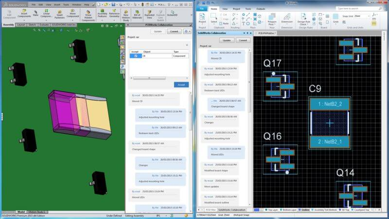 SOLIDWORKS PCB a new tool for electrical/mechanical teams