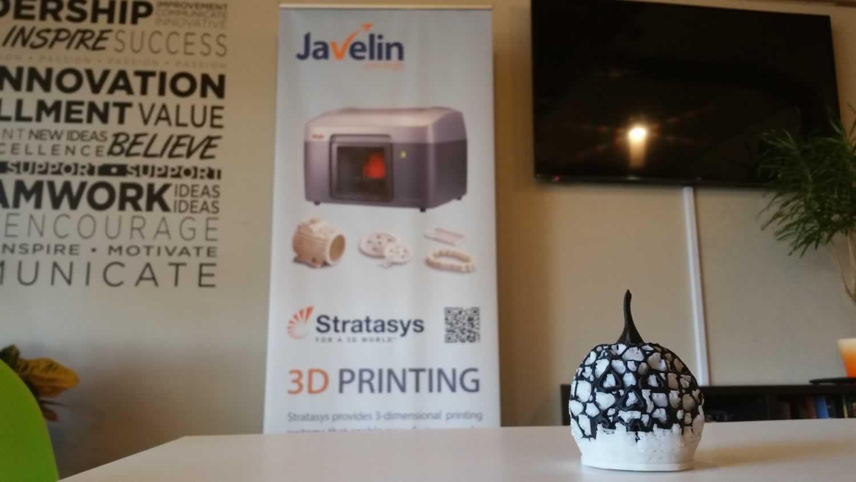 3D Printed Pumpkin