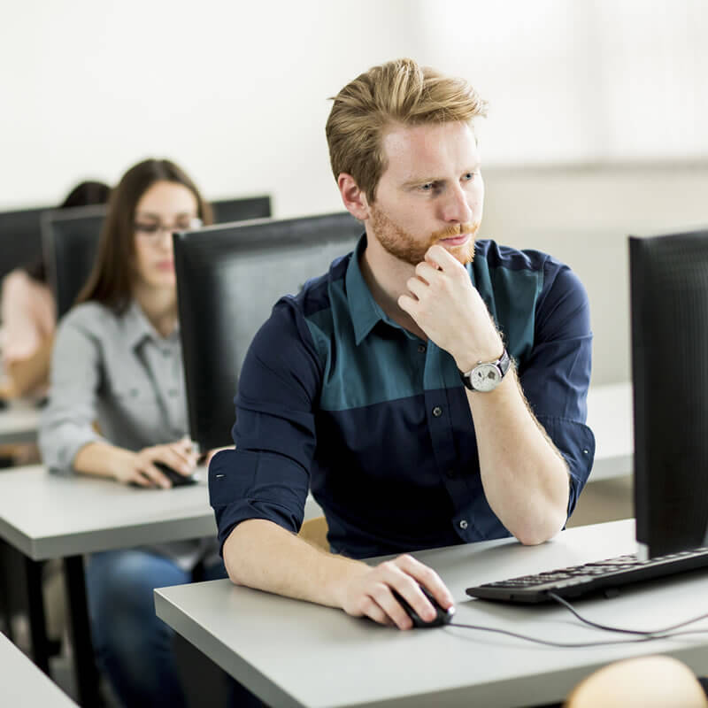 SOLIDWORKS Expert taking an Advanced Update Training Class