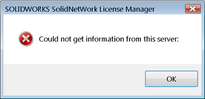 SolidNetWork License (SNL) Manager Troubleshooting