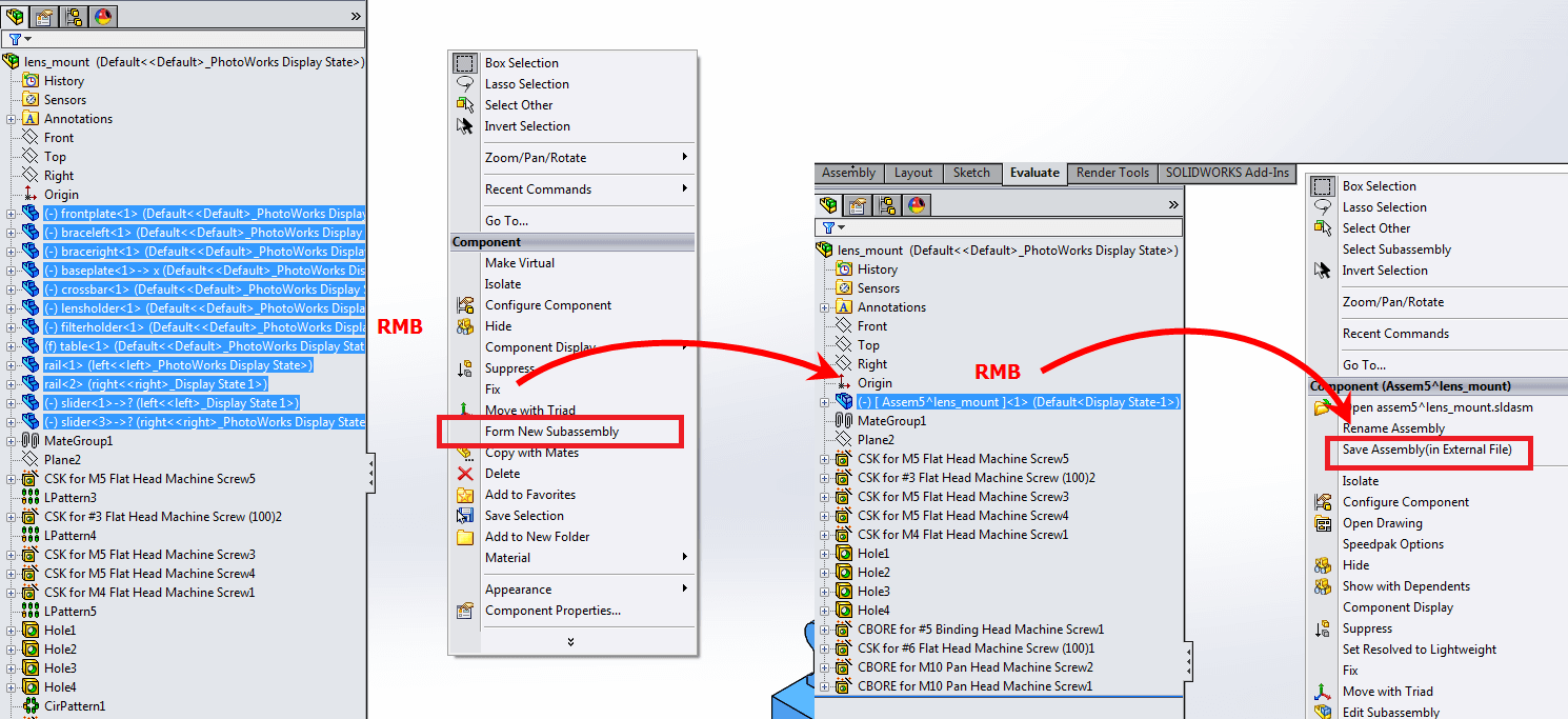 SOLIDWORKS Assembly File will NOT Save