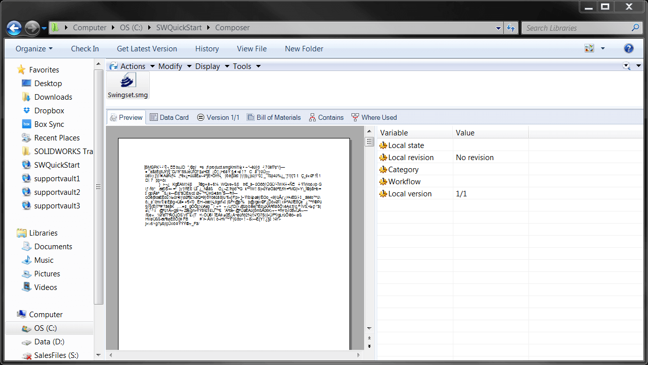 SMG File Preview Not Working