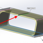 SOLIDWORKS Sheet Metal Rip Option Examples