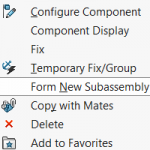 What to try when a SOLIDWORKS Assembly File will NOT Save