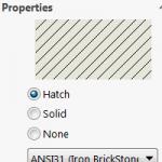 SOLIDWORKS Hatch Pattern Customization