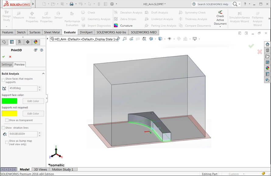 SOLIDWORKS Additive Manufacturing