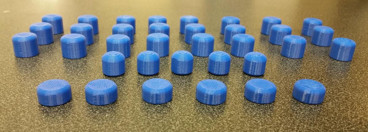 3D Printed Bit Teeth