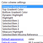 SOLIDWORKS 2016 Interface Brightness Options