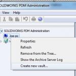 SOLIDWORKS PDM Standard Server & Client Administration Setup