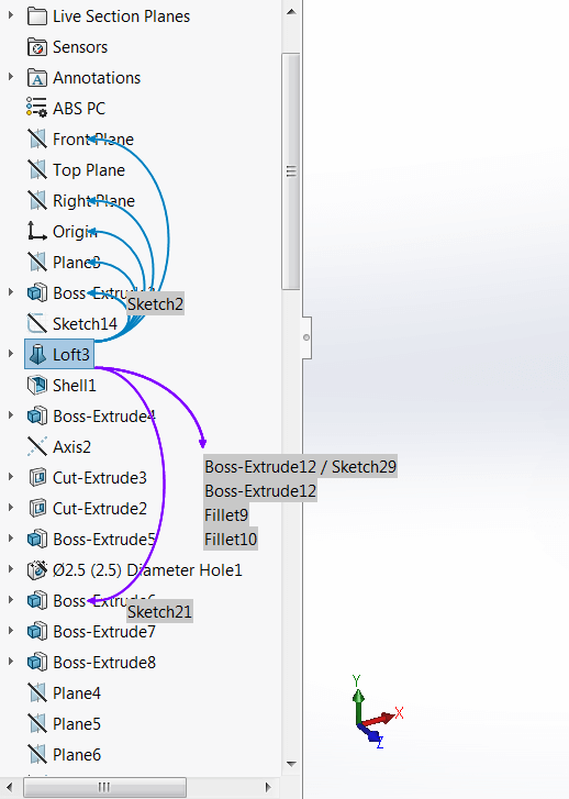 SOLIDWORKS 2016 Dynamic Reference Visualization